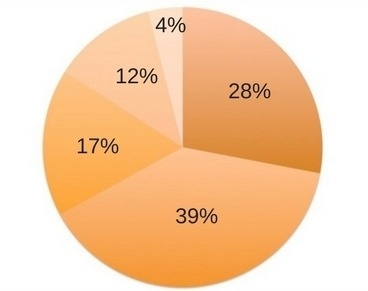 IELTS writing task 1 academic lesson on pie charts