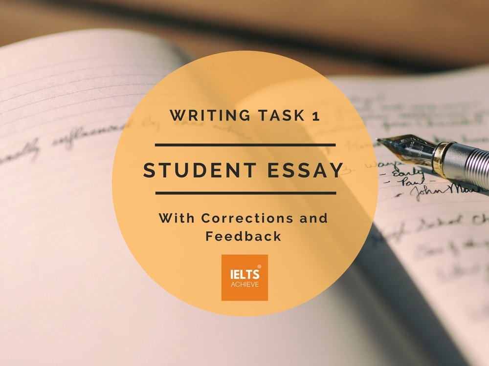 Writing Task 1 Academic – Band Score 9