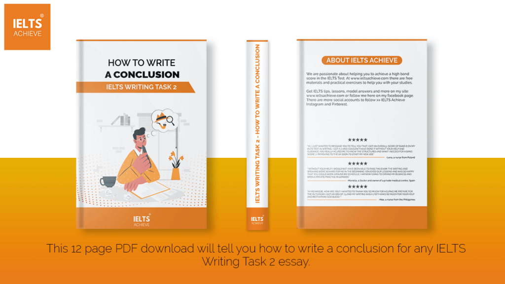 IELTS WRITING TASK 2 - HOW TO WRITE A CONCLUSION