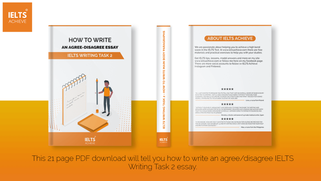 IELTS Writing Task 2 – How To Write An Agree-Disagree Essay
