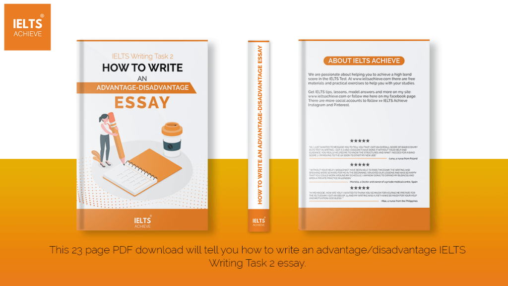 How To Write An Advantage-Disadvantage Essay